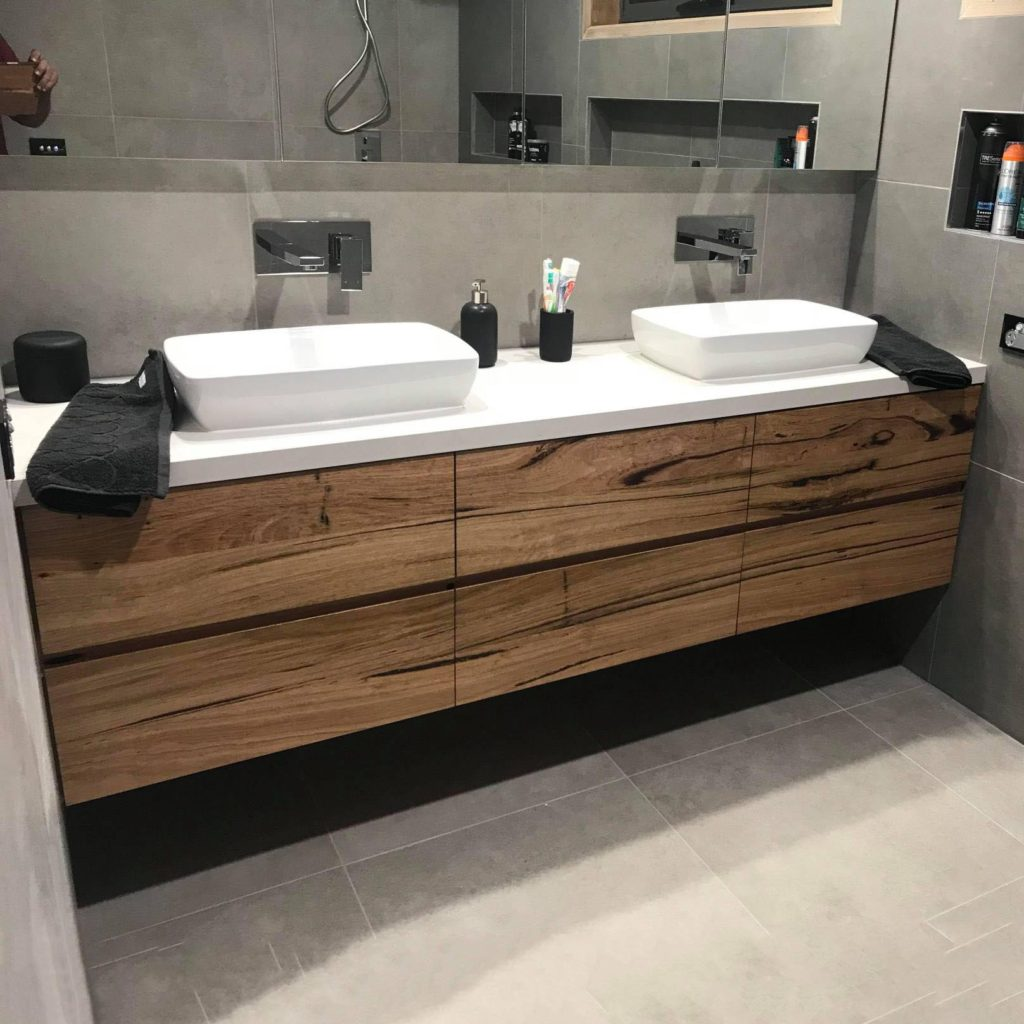 Picture of: Timber Vanities Recycled Timber Vanity Just Eco Timber