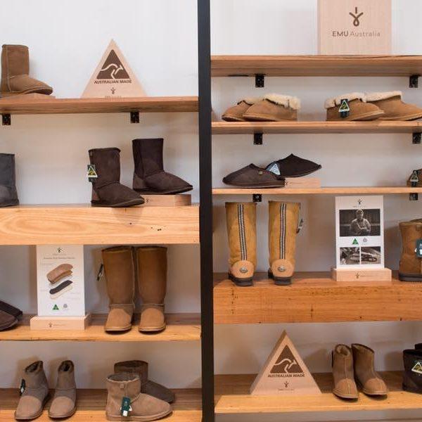 Timber Shoe Shelves Melbourne