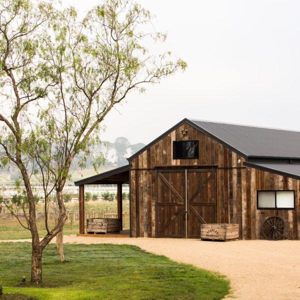 Timber Barn External View