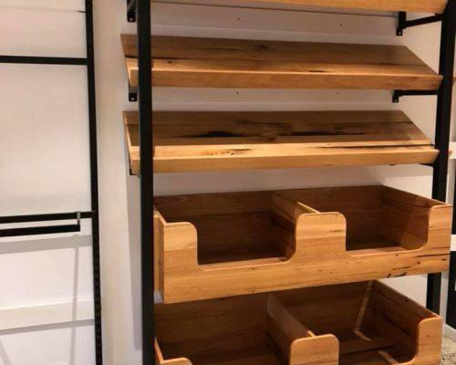 Timber shelves melbourne