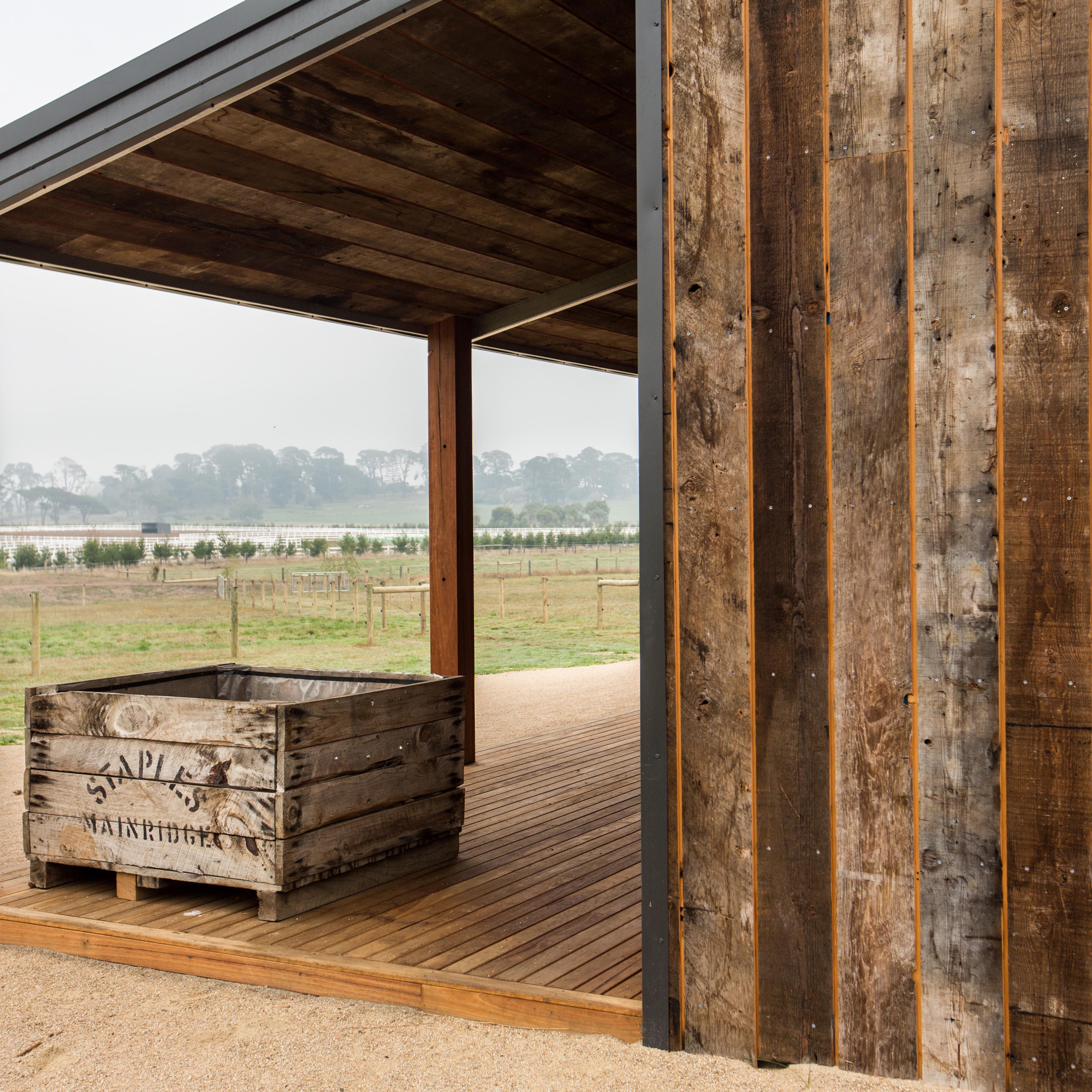 barn external timber