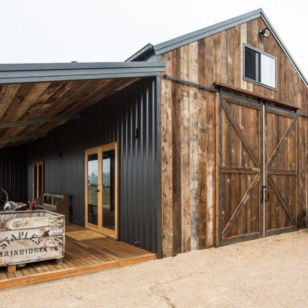 Barn Project External View