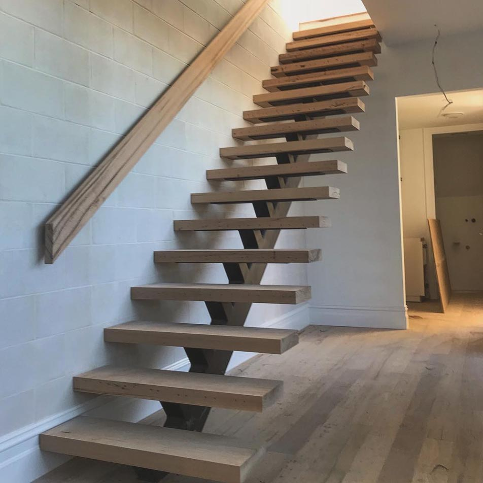 Recycled timber stairs melbourne
