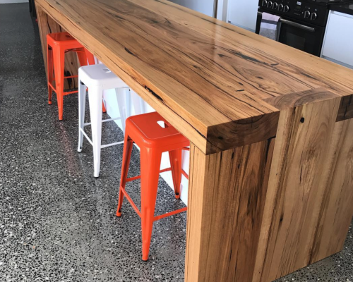 recycled timber benchtops melbourne